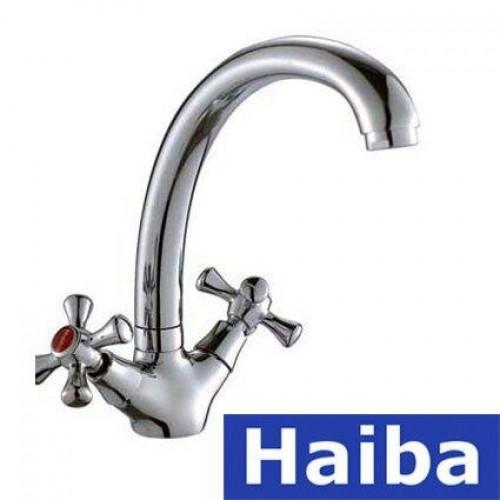 Смеситель для умывальника HAIBA SMES (Chr-273)