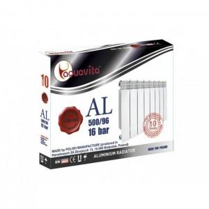 Алюминиевый радиатор Aquavita 500/96