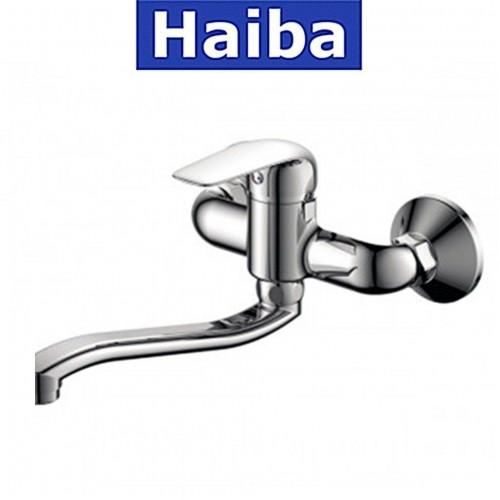 Смеситель для кухни от стены HAIBA DARIO (Chr-005)
