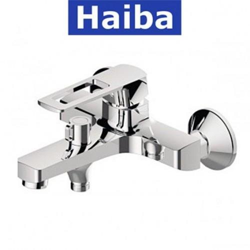 Смеситель для ванны короткий нос HAIBA ENIO EURO (Chr-009)