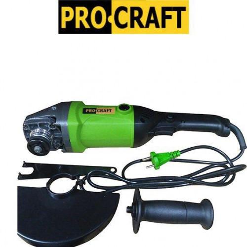 Машина угловая шлифовальная  ProCraft PW-2150  180мм