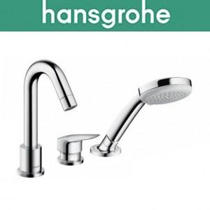 Смеситель Hansgrohe (art 71310000) для ванной встраиваемый Logis на 3 отверстия