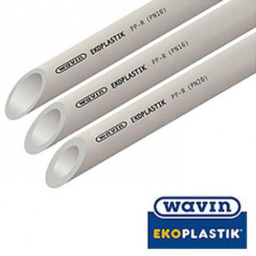 WAVIN EKOPLASTIK Труба PN20 d20, Чехия (цена за 1 м.п.)