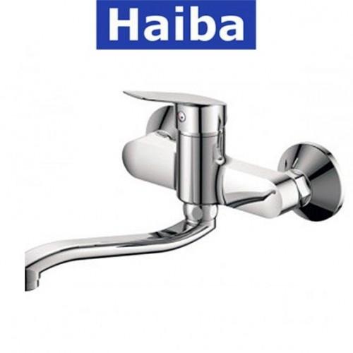 Смеситель для кухни от стены HAIBA Nikas (Chr-005)