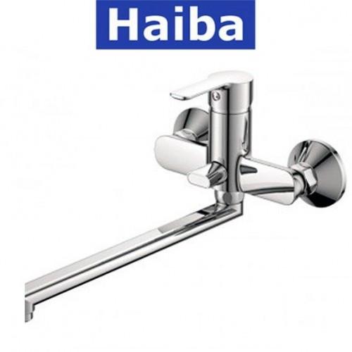 Смеситель для ванны длинный нос HAIBA MARCO EURO (Chr-006)