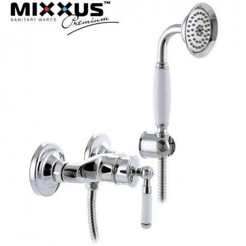 Смеситель для душкабины Mixxus Premium Vintage (Chr-003)