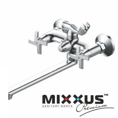 Смеситель для ванны длинный нос MIXXUS Premium Galaxy Euro (Chr-140), Польша