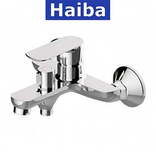Смеситель для ванны короткий нос HAIBA ASIO EURO (Chr-009)