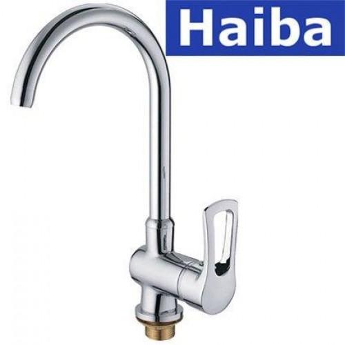 Смеситель для кухни Ухо HAIBA HANSBERG (Chr-017)