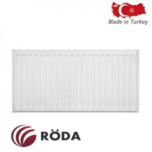 Стальной радиатор Roda 22 VK R тип (300/400) нижнее подключение