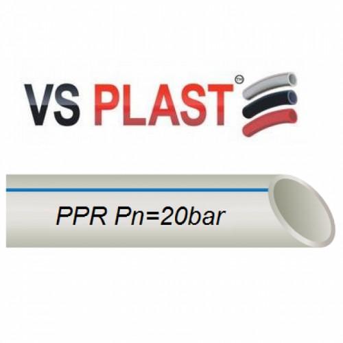 Труба VS Plast PPR Pipe PN25 20x3.4
