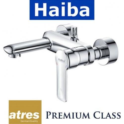 Смеситель для ванны короткий нос HAIBA LATRES FELINI (Chr-009)
