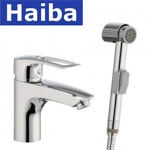 Смеситель для умывальника Haiba Germes SH (Chr-001)  с лейкой
