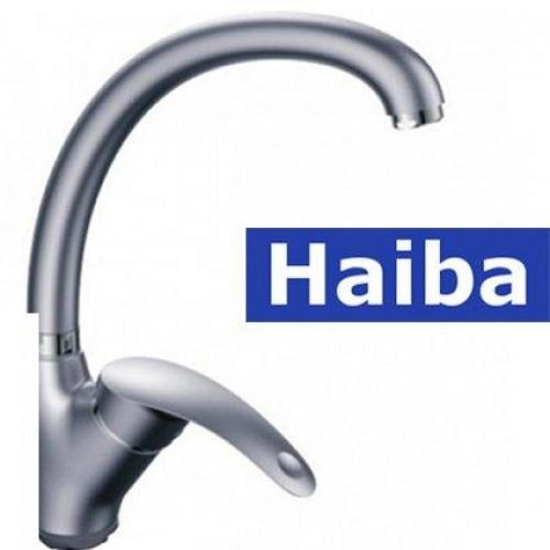 Смеситель для кухни Ухо HAIBA HANSBERG SATIN (Chr-011)