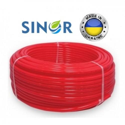 Труба для теплого пола Sinor 16x2.0 PE-RT с кислородным барьером