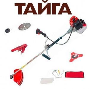 Бензокоса Тайга БГ-4300 (2 ножа (40Т победит., 3Т), 1 катушка-леска) штанга 28 см