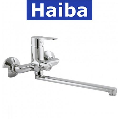 Смеситель для ванны длинный нос HAIBA DANIEL EURO (Chr-006)