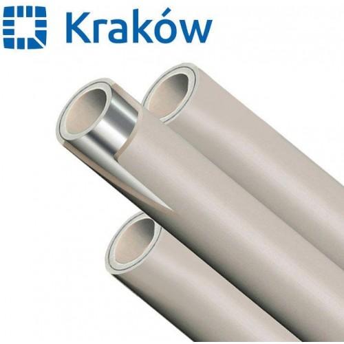 Труба полипропиленовая PPR Krakow Stabi с алюминием d40, Польша