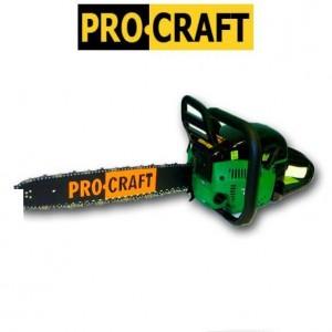 Бензопила ProCraft K450 профи металл (2шины 2цепи) плавный пуск