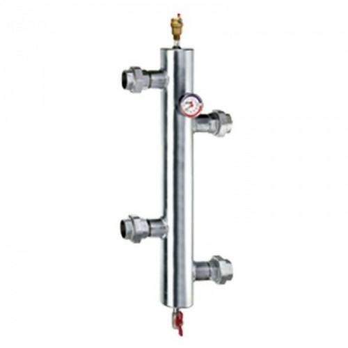 """Резьбовой гидравлический сепаратор для систем отопления (11/4"""")"""