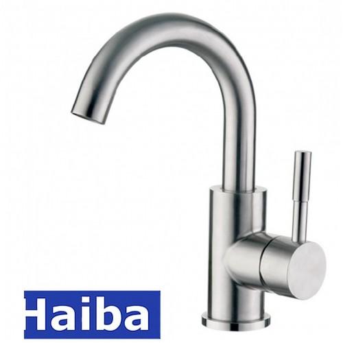Смеситель для умывальника HAIBA SUS-001-C из нержавеющей стали