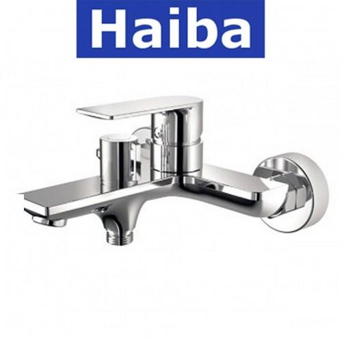 Смеситель для ванны короткий нос HAIBA ALEX EURO (Chr-009)