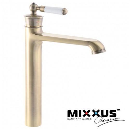 Смеситель для умывальника MIXXUS Premium Vintage Bronze (Chr-001), Польша