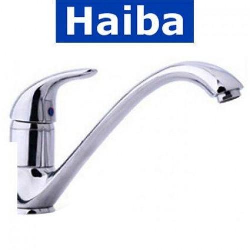 Смеситель для кухни елка литая HAIBA Violet (Chr-012)