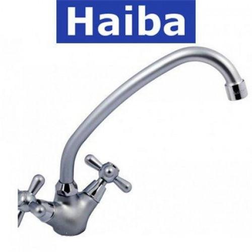 Смеситель для кухни HAIBA DOMINOX Satin (Chr-271)