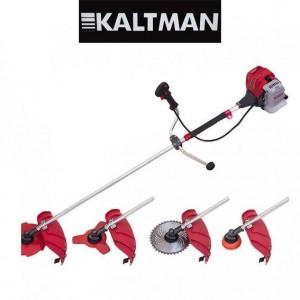 Бензокоса Kaltman KT4400 (3 ножа (40Т победит, 3Т,8Т), 1 катушка-леска) штанга 28 см