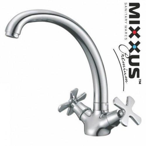 Смеситель для кухни ухо MIXXUS Premium Fobos (Chr-273), Польша