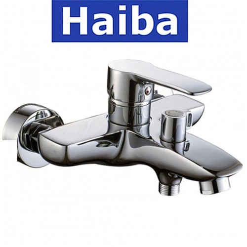 Смеситель для ванны короткий нос HAIBA Columbia (Chr-009)