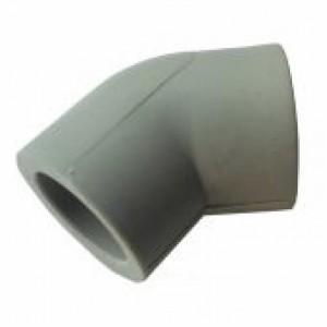 Колено (Dırsek) PP-R 45° 50 (упак.50 шт)