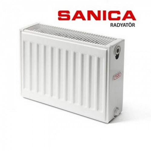 Стальной радиатор Sanica тип 22 (300/500) Турция