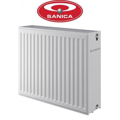 Стальные радиаторы Sanica 33 300*1000 Турция (боковое подключение)