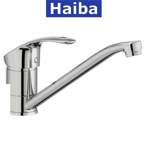 Смеситель для кухни елка на шпильке 25см HAIBA Fabio (Chr-004)