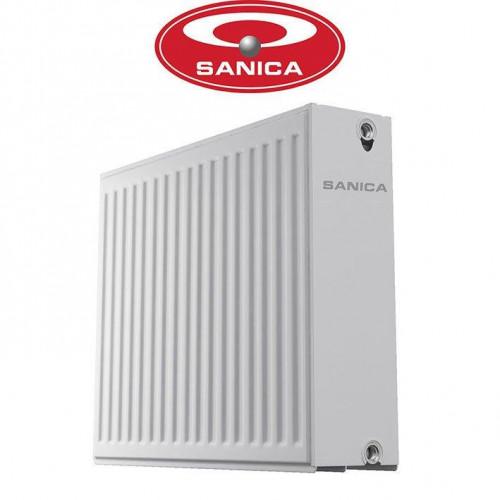 Стальные радиаторы Sanica 33 300*1100 Турция (боковое подключение)