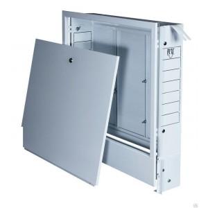 Шкаф коллекторный встроенный №2 (570х580х110) на 5-6 выходов