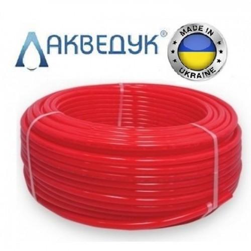Труба для теплого пола Акведук 16x2.0 PE-RT с кислородным барьером