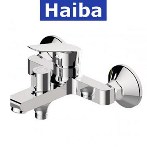 Смеситель для ванны короткий нос HAIBA NIKAS EURO (Chr-009)