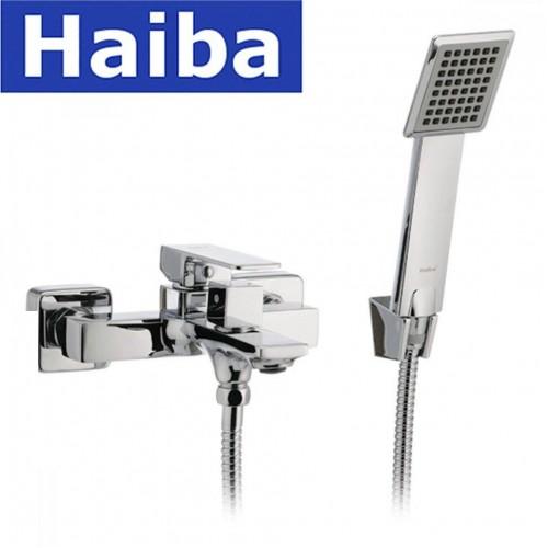 Смеситель для ванны короткий нос HAIBA MILLER EURO (Chr-009)