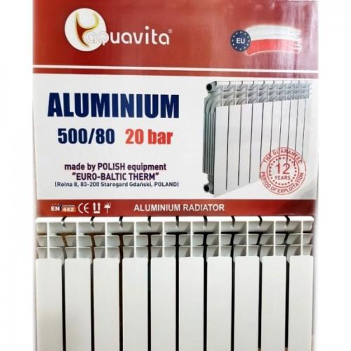 Алюминиевый радиатор отопления Aquavita 500/80 (Original)