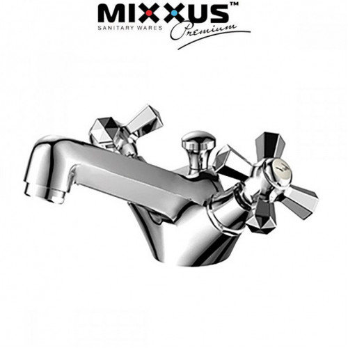 Смеситель для умывальника MIXXUS Premium Retro (Chr-161), Польша