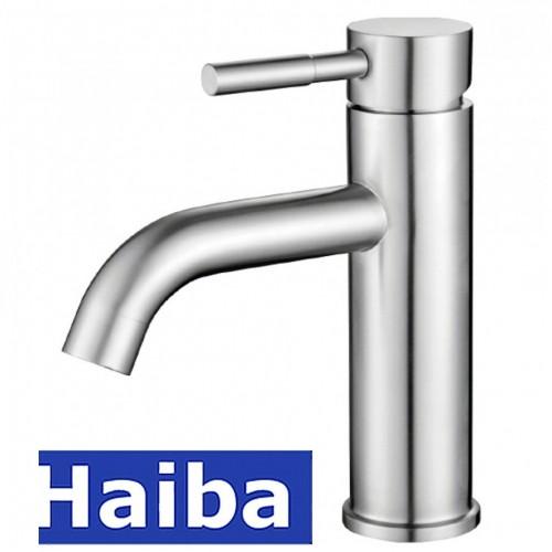 Смеситель для умывальника HAIBA SUS-001-B из нержавеющей стали