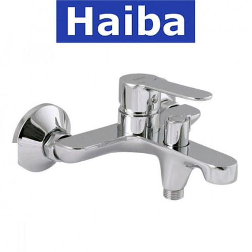 Смеситель для ванны короткий нос HAIBA DANIEL EURO (Chr-009)