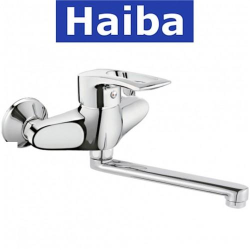 Смеситель для кухни от стены HAIBA Germes (Chr-005)