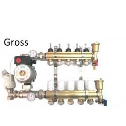 Коллектор для теплого пола GROSS 1
