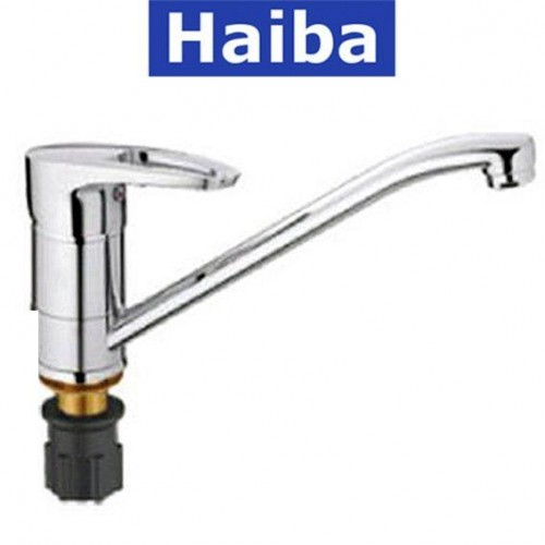Смеситель для кухни елка на гайке HAIBA XIDE (Chr-555) 25см