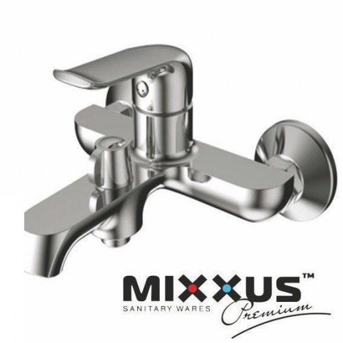 Смеситель для ванны короткий нос MIXXUS Premium Medea Euro (Chr-009), Польша