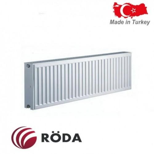Стальной радиатор Roda 22 R тип (300/1100) Турция